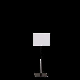 Panel de pie negro formato A4 Alt. 90 a 150 cm.