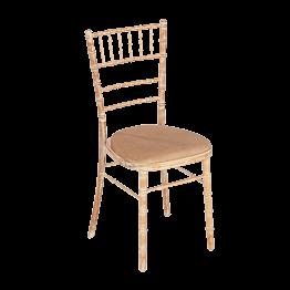 Silla Bambú asiento caramelo