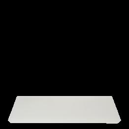 Bandeja resina blanca 30 x 40 cm.