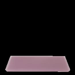 Bandeja resina rosa 30 x 40 cm.