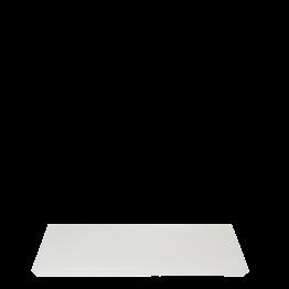Bandeja resina blanca 20 x 30 cm.