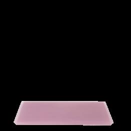 Bandeja resina rosa 20 x 30 cm.