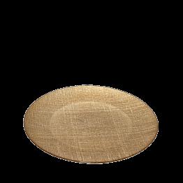 Plato de presentación Strass oro Ø 32 cm