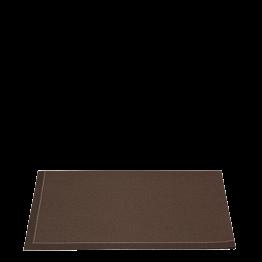 Servilletas cóctel tela chocolate 2 pliegues 24 x 16 cm (por 10)