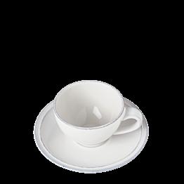 Taza y plato de café Luberón 9 cl