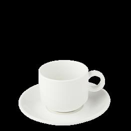 Taza y plato de té Bruges 22 cl