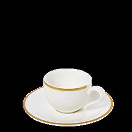 Taza y plato de café Luxor 10 cl