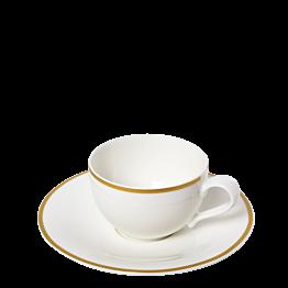 Taza y plato de té  Luxor 20 cl