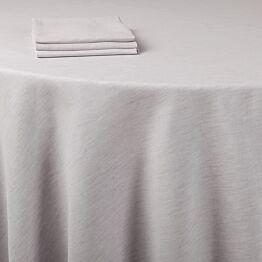 Mantel lino gris 290 x 400 cm.