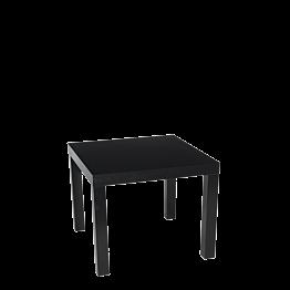 Mesa baja  negra  55 x 55 cm Alt. 45 cm