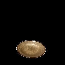 Plato de pan Strass oro Ø 14 cm