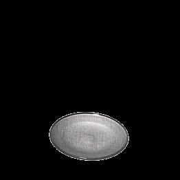 Plato de pan Strass plata Ø 14 cm