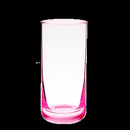 Vaso de whisky rosa flúor 32 cl