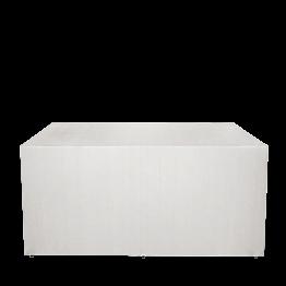 """Buffet plegable con funda blanca """"4 caras"""" 100 x 200 cm y ruedas"""
