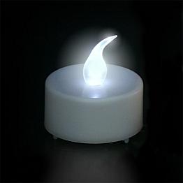 Vela LED blanco Ø 3,8 cm