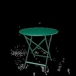 Mesa Trocadero verde  Ø 77 cm