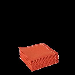 Servilleta cóctel tela teja 20 x 20 cm (30 u.)