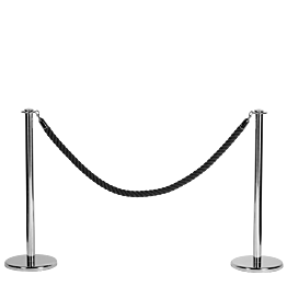 Cuerda negra L 200 cm