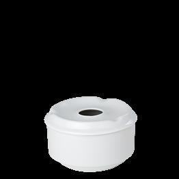 Cenicero porcelana redondo con tapa  Ø 10 cm Alt 6 cm