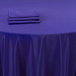 Mantel azul intenso 210 x 210 cm