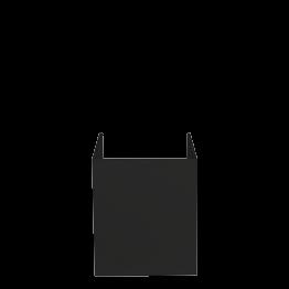 Protector negro para caja negra