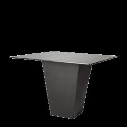 Mesa cóctel alta Alt. 112 cm Cono negro con sobre negro
