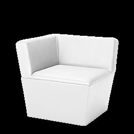 Módulo de ángulo Cono blanco 75 x 75 x 75 cm