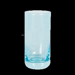 Vaso de whisky azul flúor 32 cl
