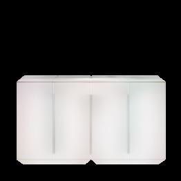 Módulo central barra Iluminado Alt. 115 L 200 A 55 cm