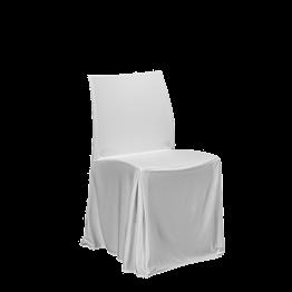 Silla Opalo con funda blanca