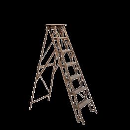 Escalera en madera Vintage