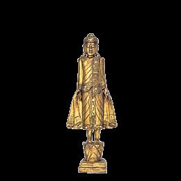 Bouddha debout doré 64 x 210 cm