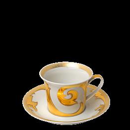 Taza y plato de té Versace 25 cl
