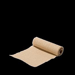 Pasillo de mesa tela de saco 30 cm x 5 m