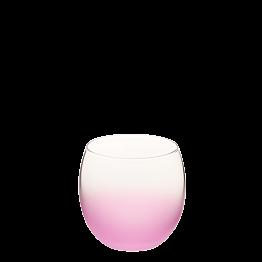 Burbuja escarchada rosa Ø 6.5 cm H 6.5 cm 15 cl