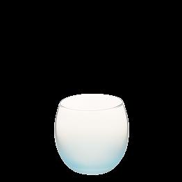 Burbuja escarchada azul Ø 6.5 cm H 6.5 cm 15 cl