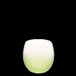 Burbuja escarchada verde manzana Ø 6.5 cm H 6.5 cm 15 cl