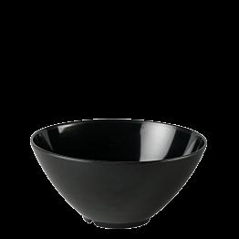 Ensaladera resina negra Ø 28 cm Alt. 15,5 cm 380 cl