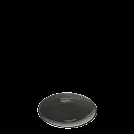 Plato de pan negro Ø 14 cm
