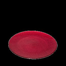 Plato de presentación rojo Ø 32 cm