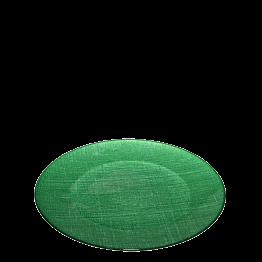 Plato de presentación verde Ø 32 cm