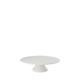 Bandeja porcelana con pie Ø 22,5 cm. Alt. 7 cm