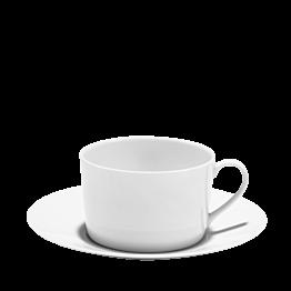 Taza y plato de desayuno Duna 40 cl