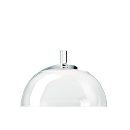Campana en cristal Ø 24.5 cm Alt. 19 cm