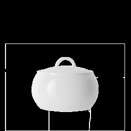 Azucarero porcelana blanca