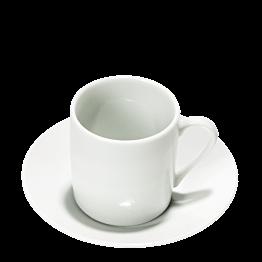 Taza y plato de café Harmony 11 cl