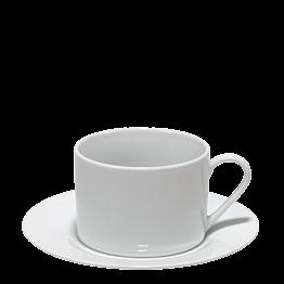 Taza y plato de té Harmony 20 cl