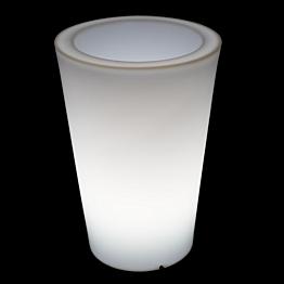 Tiesto redondo luminoso  Ø 35 Alt 50 cm