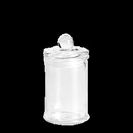 Bombonera en cristal Ø 6 cm Alt. 11 cm