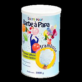 Azúcar azúl para algodón de azúcar aroma de frambuesa 1 kg